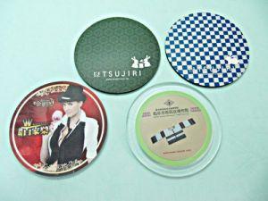 PC、Plastic  printing  Coasters