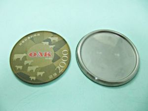 Stainless  Steel、Tinplate  Printing  Coasters
