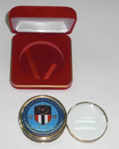 Magnifying glass  & box