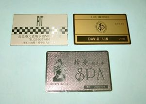 Brass  Card