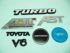 塑膠車用商標
