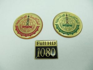 Brass print + Epoxy trademarks, Name-Plate
