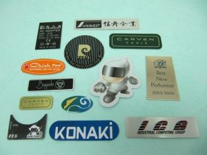 Aluminum Printing  trademarks、Name-Plate
