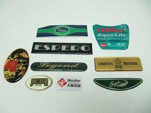 一般鋁印刷波麗商標、銘版