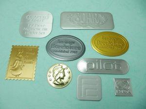 手冊鋁打凸商標、銘版