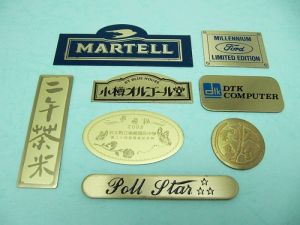 Brass  Etch  trademark、Name-Plate