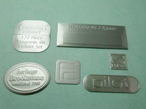 Aluminum convex trademark、Name-Plate