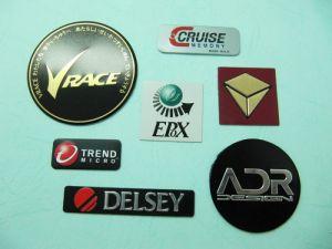 Aluminum Printing  convex trademark、Name-Plate