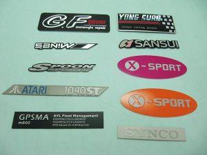 鋁印刷鑽雕一般商標、銘版