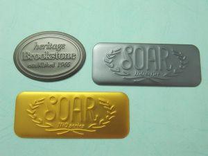 鋁電鍍凸字一般商標、銘版