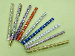 Metal pen tube