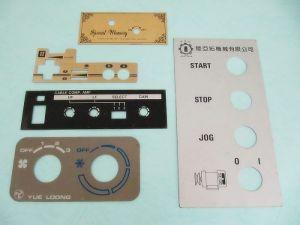 Aluminum printing machinery panel