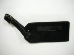 Leather    Luggage  hang  tag