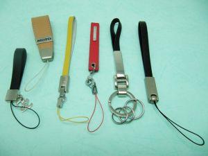 皮革手機吊飾