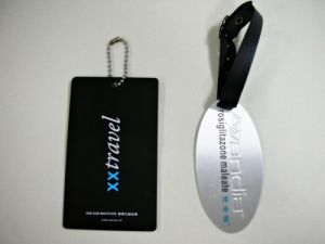 Metal  Luggage  hang   tag