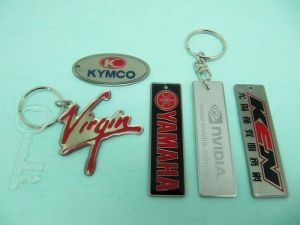 Stainless  Steel  Etch  Key-Chain
