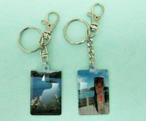 Stainless  Steel  Printing  Key-Chain