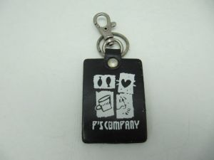 Leather  Printing  Key-Chain
