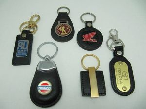 Leather+Metal  Key-Chain