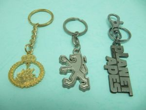 Pewter  2D  Key-Chain