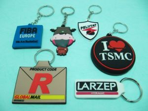 Soft  PVC  2D  Key-Chain