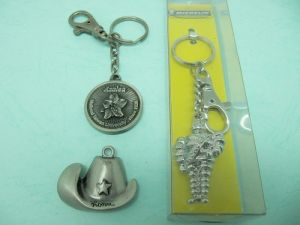 錫合金 3D 鑰匙圈
