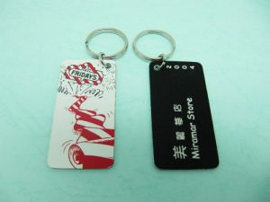 Acrylic  Laser engraving  Key-Chain