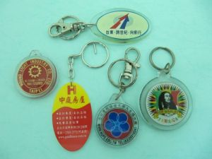 Acrylic  Printing  Key-Chain