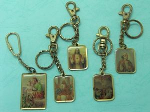 Brass  Printing  key-chain  1