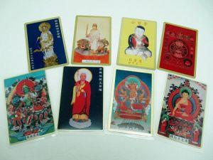 Brass  Printing  name-plate、card、Buddha  card