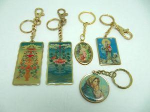 Brass  Printing  key-chain